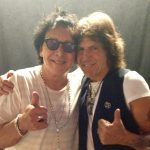 Peter Criss of KISS and Sandy Gennaro